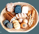 「天然パン工房楽楽パンはネットショップで購入いただけます」