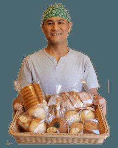 「天然酵母パン職人  石原  貴の想い」パン職人石原貴は自分もアレルギー、アトピーでした。自分の体験と共に天然酵母パンにそして素材にこだわるのかをお伝えします